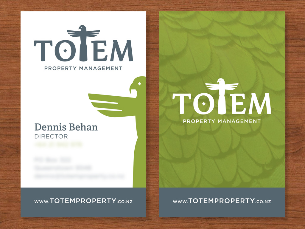 Totem Property Business Card