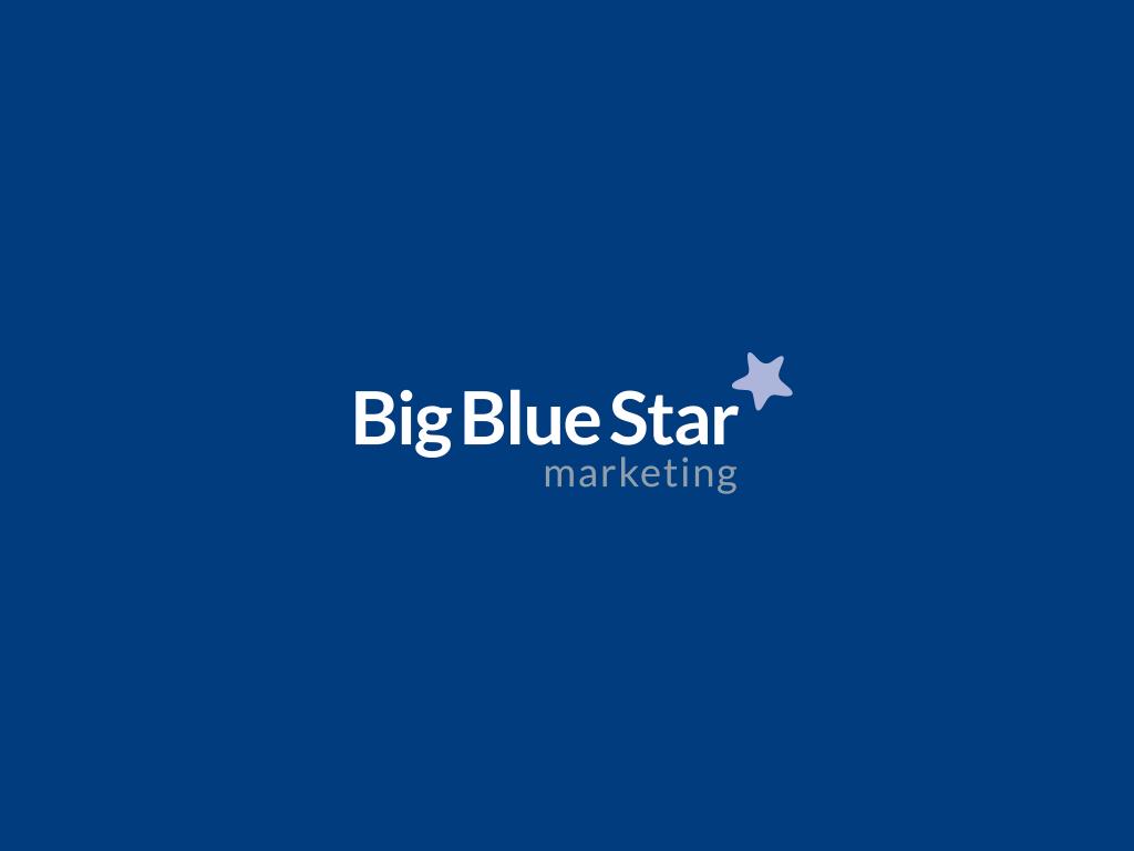 Big Blue Star Marketing Logo