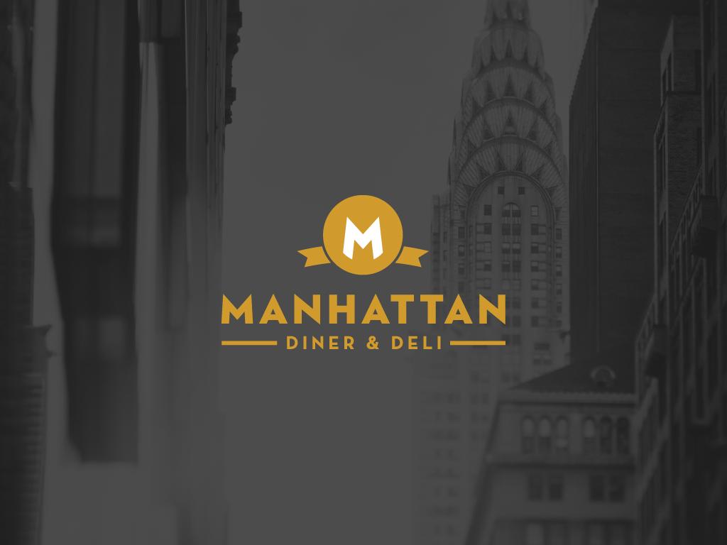 Manhattan Diner & Deli Logo