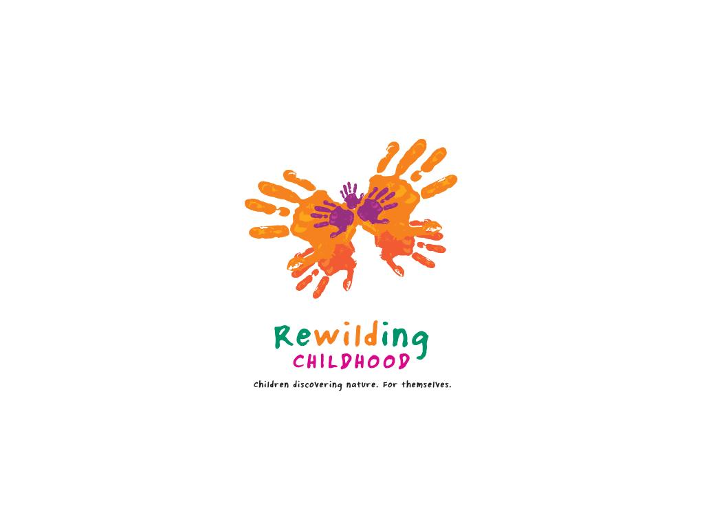 Rewilding Childhood Logo