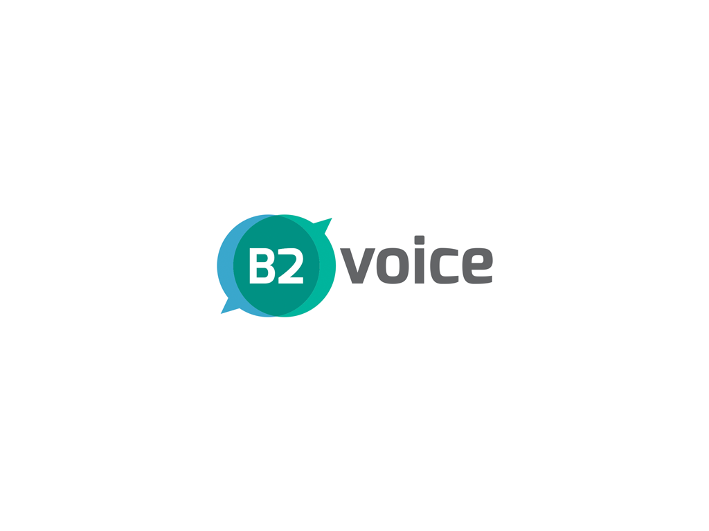B2 Voice logo