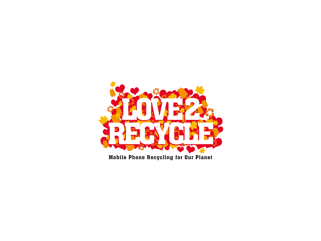 Love 2 Recycle Total Brand Logo Design Branding