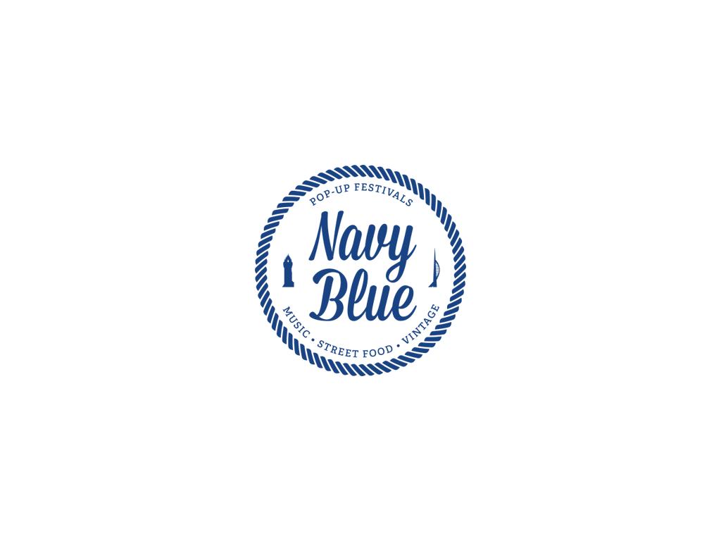 Navy Blue Events Logo