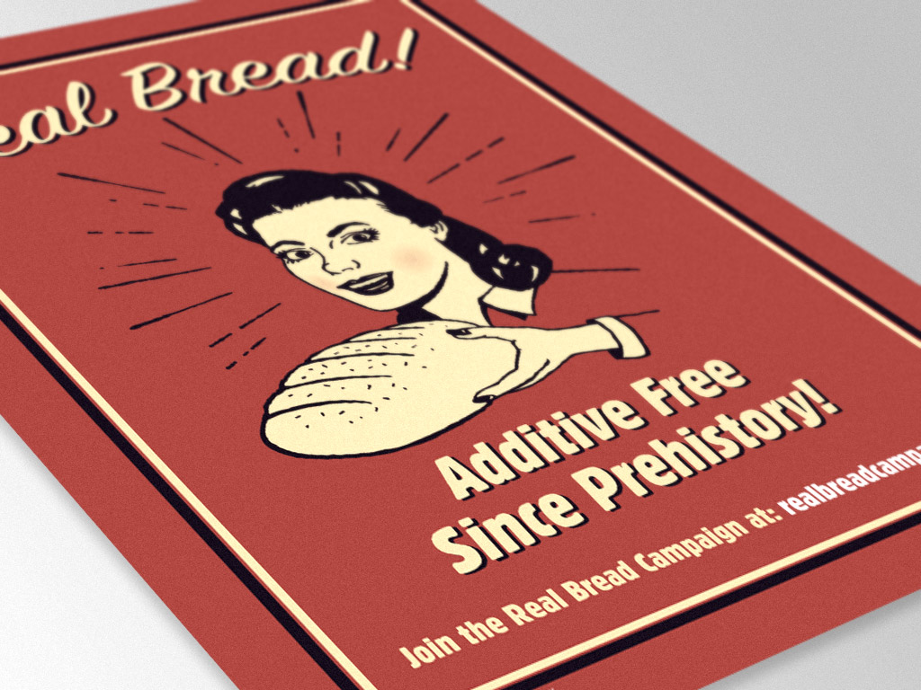 Real Bread Campaign Poster
