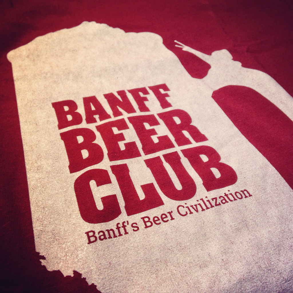 Banff Beer Club t-shirt