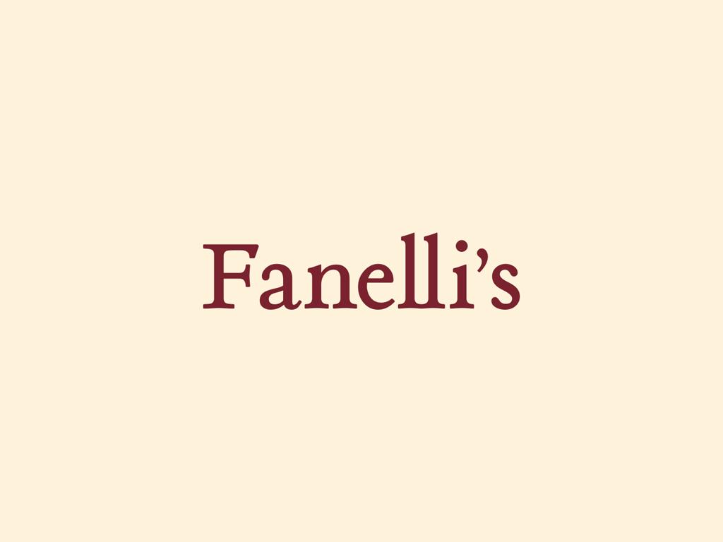 Fanelli's Restaurant Logo
