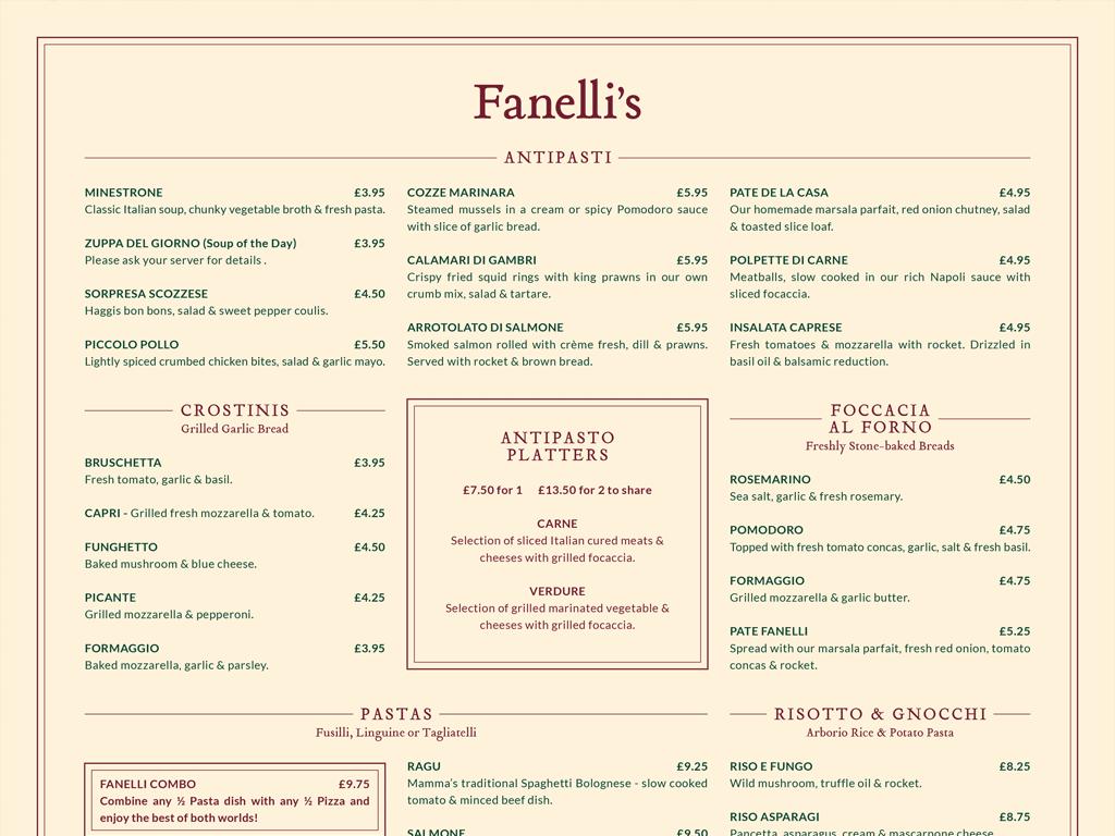 print-fanellis-menu